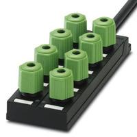 Phoenix Contact Répartiteur pour capteurs/actionneurs - SACB-8Q/4P- 5,0PUR