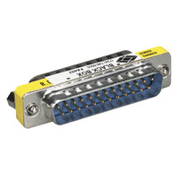 Black Box Changeurs de genre Sub-D Adaptateur de câble - Métallique,Jaune
