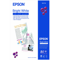 Epson Bright White Inkjet Paper - A4 - 500 Vellen Fotopapier - Wit