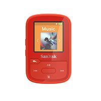 Sandisk SDMX28-016G-G46R Lecteur MP3 - Rouge