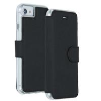 Accezz Xtreme Wallet Booktype iPhone SE (2020) / 8 / 7 - Zwart / Black