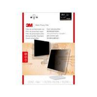 3M PF201W1B Filtre écran - Filtre de confidentialité sans bords pour ordinateur