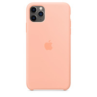 Apple Siliconenhoesje voor iPhone 11 Pro Max - Grapefruit - Oranje