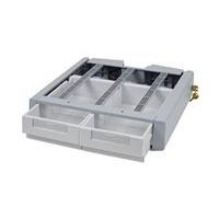 Ergotron Tiroir double supplémentaire SV43/44 Accessoires panier multimédia - Gris