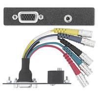 Extron 15-pin HD-BNC/3.5 mm Dop aansluitdoos - Zwart