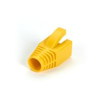 Black Box Snagless Boot - 8.0-mm, Yellow, 50-Pack Protecteur de câble - Jaune