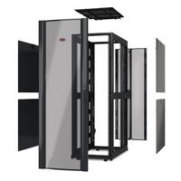 APC NetShelter SX 42U 750mm Wide x 1200mm Deep Enclosure Without Sides Without Doors Black Stellingen/racks - Zwart