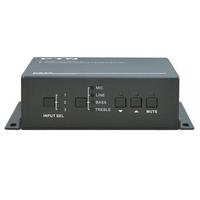 PTN-Electronics The PTN PA3V is a 100v/70v 40Watt power amplifier Audio versterker - Zwart