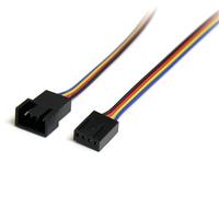 StarTech.com Câble d'extension d'alimentation pour ventilateur 4 broches 30 cm - M/F
