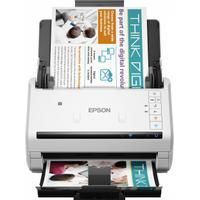 Epson WorkForce DS-570W Draadloze bedrijfs+ Wi-Fi Scanner - Wit