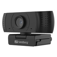 Sandberg USB Office 1080P HD Webcam - Noir
