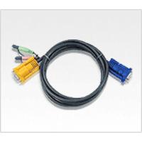 Aten 2L5203A KVM kabel - Zwart