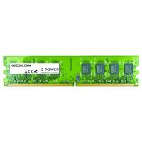 2-Power MEM1201A Mémoire RAM - Vert