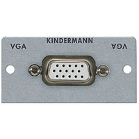 Kindermann Adapter plate VGA (HD 15) - Argent