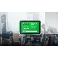 """Iadea Glass Mount Solution for 10"""" All-In-One Display XDS-1078 Houders - Grijs,Transparant"""