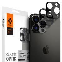 Spigen iPhone 13 Pro Max / iPhone 13 Pro Optik Lens Protector - Noir