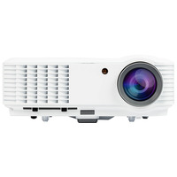 Salora FULL HD 320 ANSI LUMEN met 2x USB MEDIASPELER Beamer - Wit