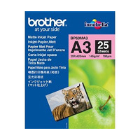 Brother BP60MA3 Inkjet Paper Papier - Wit