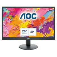 AOC 70 Series 19.5 inch 1600x900@60Hz 5 ms TN VGA Monitor - Zwart