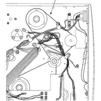 Zebra 45189-12 Courroie d'imprimante - Noir