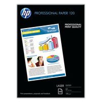 HP Professional Laser Paper, glanzend Paper, glanzend, 120 gr/m², 250 vel, A4/210 x 297 mm Papier - Wit
