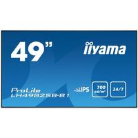 Iiyama LH4982SB-B1 - 49'' digital signage display Public Display - Zwart