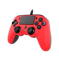 NACON Officieel gelicenseerde Wired Compact Controller voor PS4 - rood Game controller