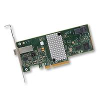 Broadcom SAS 9300-4i4e Adaptateur Interface - Vert,Gris