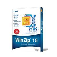 Corel WinZip 15 Standard, MNT, 50-99u, 1y Backup software