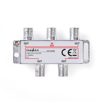 Nedis SSPL400ME Répartiteur de câbles - Argent