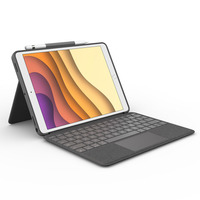 Logitech Combo Touch - QWERTY - Grijs