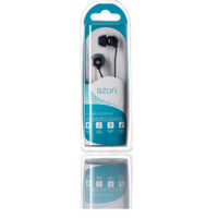 Azuri Handenvrij stereo hoofdtelefoon - zwart - 3.5 mm - universeel Headset
