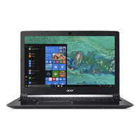 Acer Aspire A715-72G-597U Laptop - Zwart