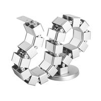 StarTech.com Kabelmanagement verstelbaar & flexibele kabelslang - Zilver