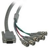 C2G Video HD15M / 5-BNC M cable - Gris