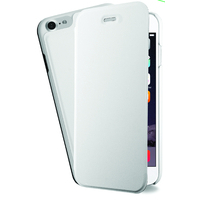 Azuri Booklet ultra thin voor Apple iPhone 7, Polycarbonate / PU leather, Wit