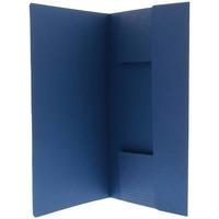 Esselte Farde à 3 rabats manille Fichier - Bleu