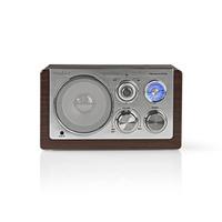 Nedis RDFM5100BN Radio - Bruin