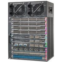 Cisco WS-C4510R+E= Netwerkchassis - Zwart