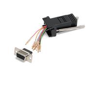 StarTech.com Adaptateur modulaire DB9 vers RJ45 - F/F - Noir Adaptateur de câble