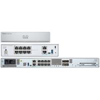 Cisco Firepower 1150 NGFW Appliance 1U, 1.72 x 17.2 x 10.58 in, 8 x RJ-45, 2 x 1Gbps SFP, 2 x 1/10Gbps SFP+ .....