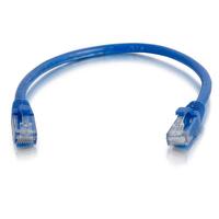 C2G Câble de raccordement réseau Cat6 avec gaine non blindé (UTP) de 2M - Bleu Câble de réseau