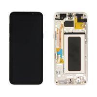 Samsung G955F Galaxy S8 Plus LCD Display Module Pièces de rechange de téléphones mobiles - Or