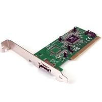 StarTech.com Carte contrôleur 1 port eSATA + 1 port SATA PCI SATA avec support faible encombrement .....