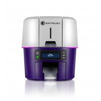 DataCard DS2 Imprimante de carte - Gris,Violet
