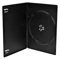 MediaRange DVD Slimcase for 1 disc, 7mm, black - Zwart