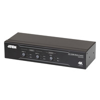 ATEN 2 x 2 True 4K HDMI Matrixswitch met audio de-embedder