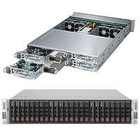 Supermicro SuperServer 2028TP-HTR Barebone server - Zwart