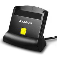 Axagon 4-Slot Universal desktop USB Smart / ID and SD / microSD / SIM card reader Lecteur de carte à puce - Noir