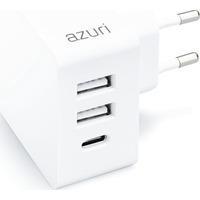 Azuri AZTCHEAD2AC4.8A-WHT Chargeur